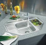 установка,  монтаж кухонных моек