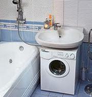Установка раковины в ванной комнате. Монтаж раковины