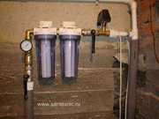 монтаж фильтров очистки воды