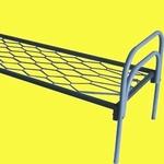Купить долговечные кровати металлические для рабочих,  в бытовки