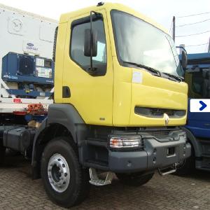 Американский седельный тягач  Renault  Kerax 350.34 (6x4)