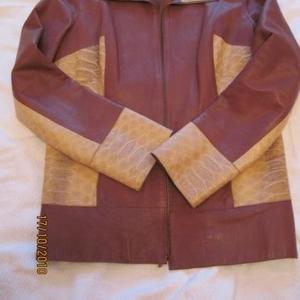 Продаётся женская кожаная куртка,  пр-во Италия