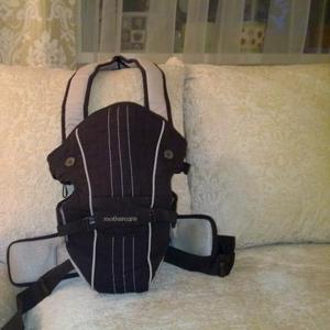 Продам кенгуру-рюкзак коричневый,  Mathecar с капюшоном