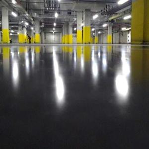 Устройство промышленных бетонных полов с топингом для торговых центров,  паркингов,  складов,  цехов