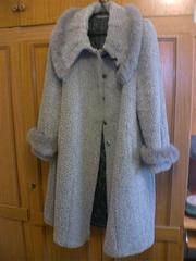 Продам пальто зимнее,  серое