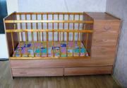 Продаётся кроватка - трансформер для детей от 0 до 10 лет