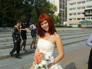 Продается свадебное платье, очень пышное