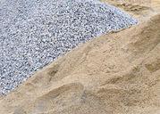 Щебень,  песок,  земля